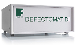 Non-destructive eddy current testing of long products with DEFECTOMAT