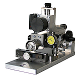 Precision sawing of artificial test errors for calibration